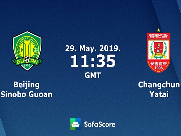 Nhận định Beijing Guoan vs Changchun Yatai, 18h35 ngày 29/05