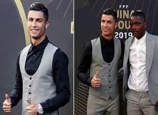 Ronaldo nhận giải Cầu thủ hay nhất Bồ Đào Nha lần thứ 10