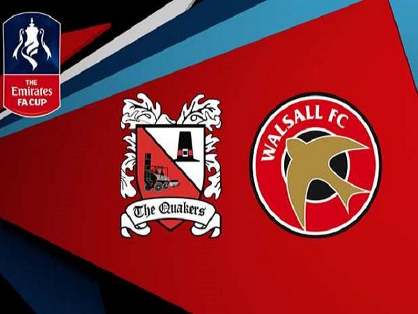Soi kèo Darlington vs Walsall 2h45, 21/11 (FA Cup)