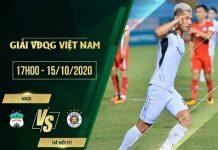 Soi kèo HAGL vs Hà Nội FC 17h00, 15/10 - VLeague 2020