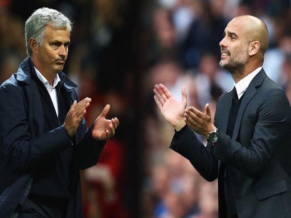 Bóng đá QT tối 21/11: Pep Guardiola đá xoáy Mourinho trước đại chiến