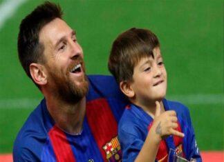 Thiago Messi - Thông tin thú vị về cậu cả nhà Messi