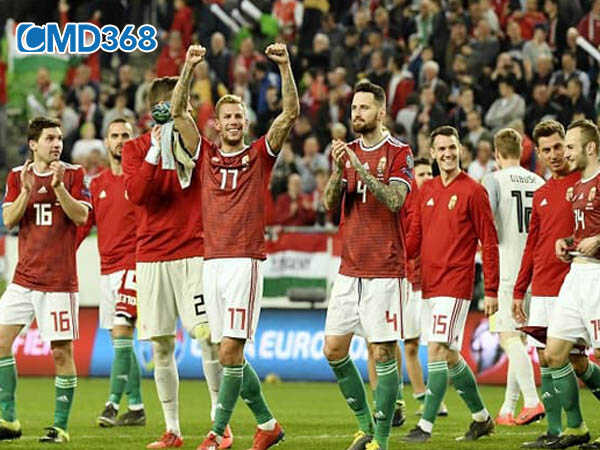Hungary ăn mừng chiến thắng tại vòng loại Euro 2020